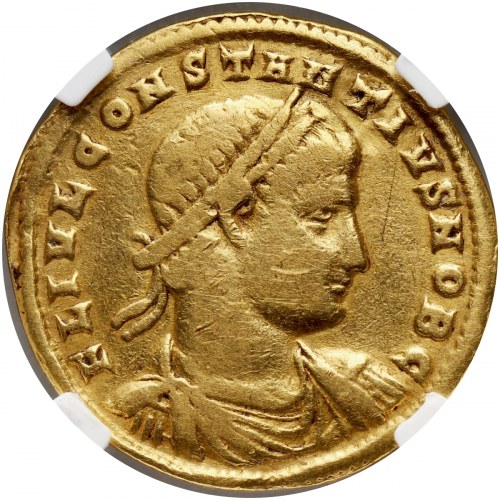 Cesarstwo Rzymskie, Konstancjusz II 337-361, medalion wagi 1 1/2 solida, Nicomedia