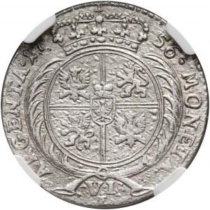 August III, szóstak 1756 E, Królewiec