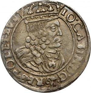 Jan II Kazimierz, szóstak 1662 GBA, Lwów, błąd w legendzie awersu: RES zamiast REX