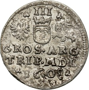 Zygmunt III Waza, trojak 1608, Wilno