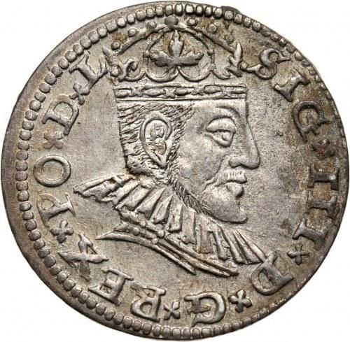 Zygmunt III Waza, trojak 1591, Ryga