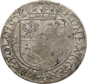 Jan II Kazimierz, ort 1659 TLB, Kraków