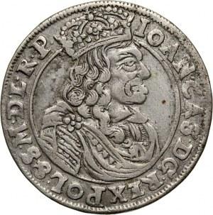 Jan II Kazimierz, ort 1663 AT, Kraków