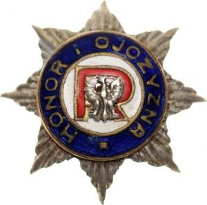 II RP, miniatura odznaki, Związek Rezerwistów