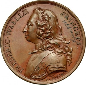 Great Britain, Frederick, Prince of Wales, bronze medal without date (c. 1750)
