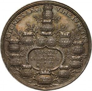 August II Mocny, medal koronacyjny z 1697 roku