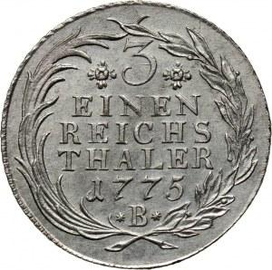 Niemcy, Brandenburgia-Prusy, Fryderyk II, 1/3 talara 1775 B, Wrocław