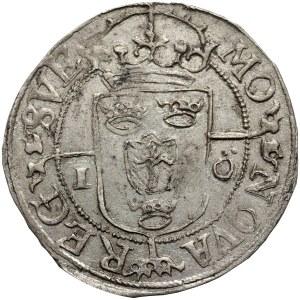 Zygmunt III Waza jako król Szwecji, 1 öre 1596, Sztokholm