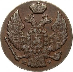 Zabór rosyjski, Mikołaj I, grosz 1836 MW, Warszawa