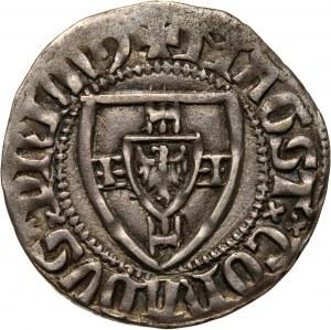 Zakon Krzyżacki, Konrad I Zöllner von Rothenstein 1382-1390, szeląg, Toruń