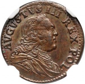 August III, szeląg 1752