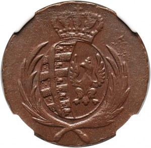 Księstwo Warszawskie, Fryderyk August I, 3 grosze 1812 IB, Warszawa