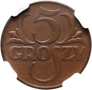 II RP, 5 groszy 1934, Warszawa