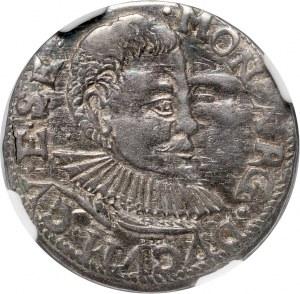 Kurlandia, Wilhelm Kettler, trojak 1597, Mitawa