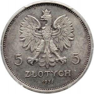 II RP, 5 złotych 1931, Warszawa, Nike