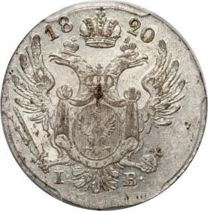 Królestwo Kongresowe, Aleksander I, 10 groszy 1820 IB, Warszawa