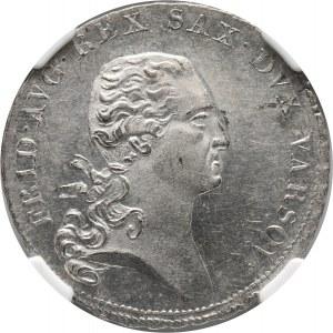 Księstwo Warszawskie, Fryderyk August I, 1/3 talara 1810 IS, Warszawa