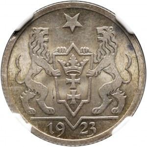 Wolne Miasto Gdańsk, gulden 1923, Utrecht, koga