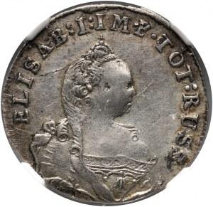 Russia, Elizabeth I, Coins for Prussia, 3 Groschen 1761, Konigsberg