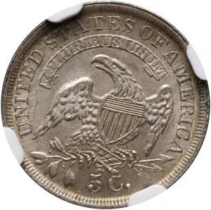 USA, 5 Cents (1/2 Dime) 1836, Philadelphia, Capped Bust, Large 5C