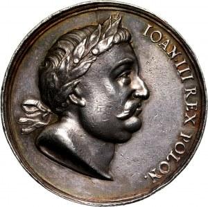 Jan III Sobieski, medal z 1694 roku, Chocim