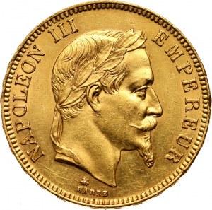 France, Napoleon III, 100 Francs 1869 A, Paris