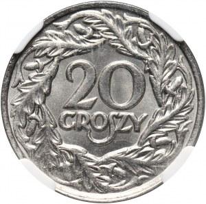 II RP, 20 groszy 1923, Warszawa