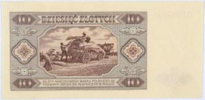 PRL, 10 złotych 1.07.1948, seria G