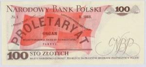 PRL, 100 złotych 15.01.1975, seria AB