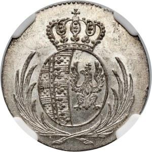 Księstwo Warszawskie, Fryderyk August I, 5 groszy 1811 IS, Warszawa