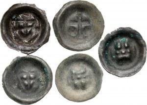 Zakon Krzyżacki, zestaw pięciu brakteatów