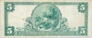 Stany Zjednoczone Ameryki, Missouri, The National Bank of Commerce in Saint Louis, 5 dolarów 1902