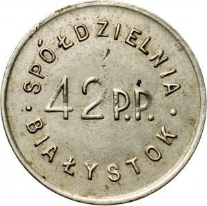 Białystok, 1 złoty, Spółdzielnia 42 Pułku Piechoty