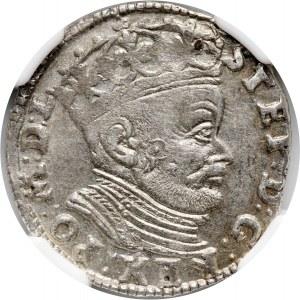 Stefan Batory, trojak 1584, Wilno