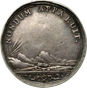August II, medal z 1706 roku, Zawarcie pokoju w Altranstädt i zrzeczenie się przez Augusta II korony polskiej