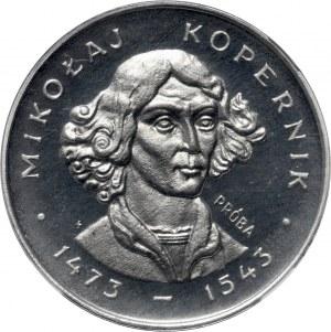 PRL, 100 złotych 1973, Mikołaj Kopernik, PRÓBA, ALUMINIUM