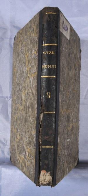 Wizerunki i roztrząsania naukowe, 1835, cz. 8