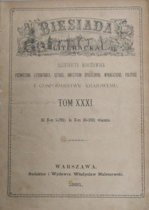Biesiada Literacka, 1891, T. XXXI