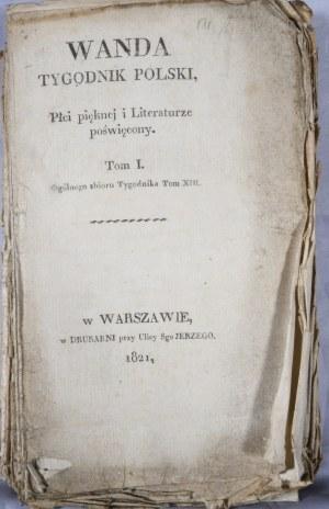 Wanda, Tygodnik Polski, T. I (XIII), 1821