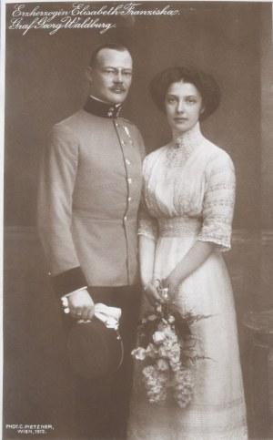 Astro-Węgry - Elżbieta Franciszka i Jerzy Waldburg