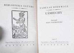 Różewicz Tadeusz - Uśmiechy.