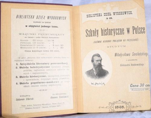 Smoleński Władysław - Szkoły historyczne w Polsce.