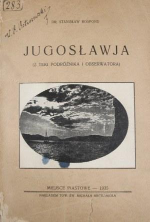 Rospond Stanisław - Jugosławia.