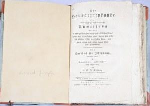 Kilian Konrad Joseph - Die Hausarzneykunde oder vollstandige und deutliche Anweisung