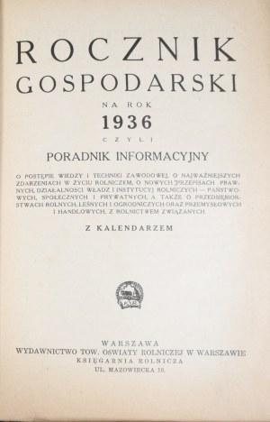 Rocznik Gospodarski na 1936
