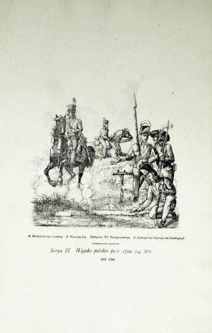 Wawrosz Karol, Serya II, Wojsko polskie po r. 1700