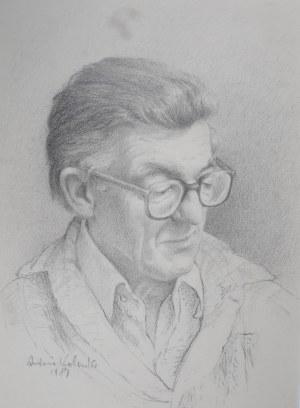 Kolonko Antoni, autoportret, 1981