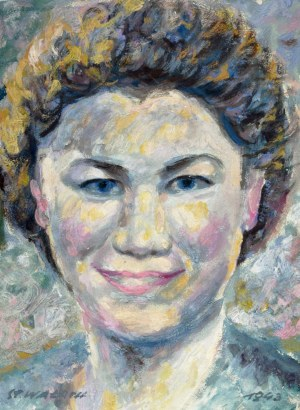 Wałach Stanisław, portret kobiety