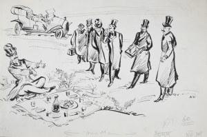 Uniechowski Antoni, Projekt ilustracji.