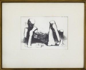 BEKSIŃSKI ZDZISŁAW - Bez tytułu, 1990